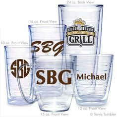 King of the Grill Personalized Tervis Tumbler