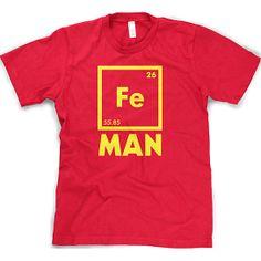 Iron Man T-shirt #geekchic