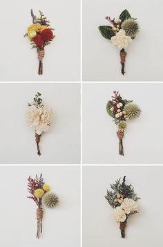 #boutonniere love #groom #groomsmen #wedding #blooms #details