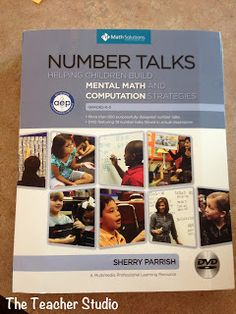 """A post about a great math conference...and the book """"Number Talks""""!"""