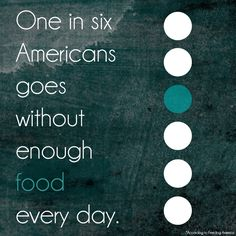 The often overlooked reality of hunger in America & ways to raise awareness around it. #hunger #fundraising