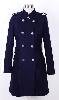 high collar, pocket, collar doubl, winter coats
