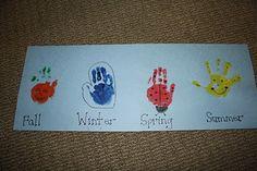 Handprint all four seasons...