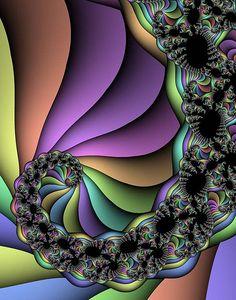 """Fractal Art  """"SpiritFractal"""" by FerdMels, via Flickr"""