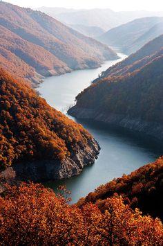 River Nestos in Northern Greece - Autumn - Beautiful
