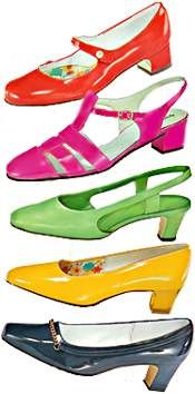 Some sweet shoes on this page. 1960s Shoes