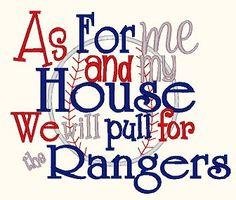 Love my Rangers!!!