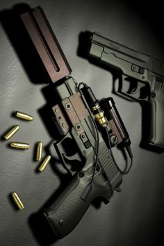 Such a beautiful gun... Of course it is. It's a Sig Sauer