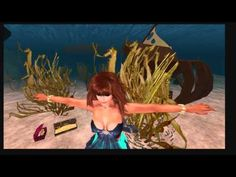 Dreamfall by Talia Sunsong. I'm learning live animation. Here I explore the dreamy environment consisting of stylish airships, mermaids and flying carpets to the music of N-qia.  #animation #dreams #second life #machinima #mermaids #airship #flying carpet