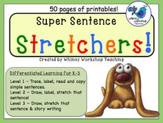 50 FREE printables for differentiated writing tasks. Details at Whimsy Workshop Teaching http://whimsyworkshop.blogspot.ca/