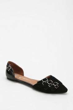 Jeffrey Campbell Taken Buckle D'Orsay Flat