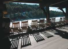 Mohonk Lake as seen from the back porch. (Daily Freeman photo by Tania Barricklo)