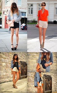 Lace shorts..perfect for spring