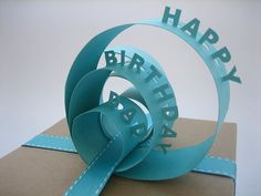 gift bows, happy birthdays, gift topper, gift wrapping, paper gifts, the craft, handmade gifts, card stock, birthday gifts
