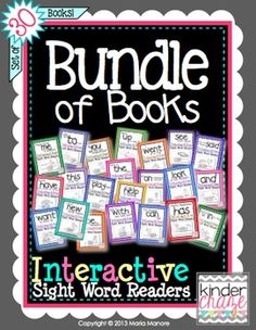 """One reviewer said """"Absolutely fabulous! Best sight word books I've EVER found!"""""""