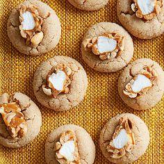 Salted-Peanut Blossoms