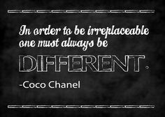 DIFFERENT Coco Chanel