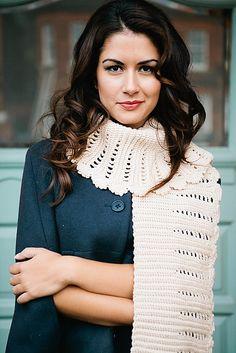 Ravelry: Corrugated Scarf pattern by Helda Panagary (Inside Crochet, Issue 49) #crochet #scarf