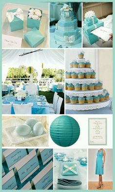 Baby Boy Shower - pretty colors!
