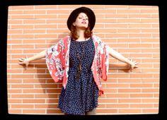 La Porta Magica - Ve a la moda cosiendo tu propia ropa. Blog de costura facil.: Dots Dress for a Date...( 1 )