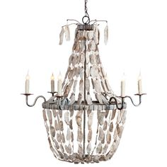 Lowcountry Originals May River Empire Metallic Chandelier. Summer's hottest sale! 20% off furniture & decor! #laylagrayce