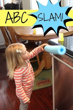 Toddler Approved!: Toddler Alphabet Game: ABC Slam!
