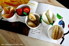 Very Hungry Caterpillar Snack Cups