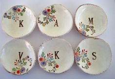 summer flowers, flower monogram, gift baskets bridesmaids, etsi, bridesmaid gifts
