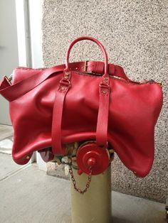 Womens travel weekender  handmade by aixa by LUSCIOUSLEATHERNYC, $589.00