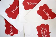 and she can custom make an editable recipe card template for me...