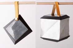 Soul Cell is an elegant folding solar lamp, perfect for illuminating in the dark on a hike or picnic
