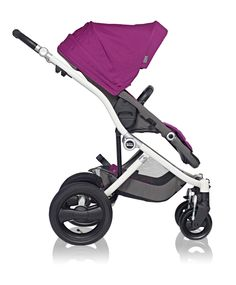 100% Sleek. Affinity Stroller by Britax in Cool Berry #baby #style #radiantorchid