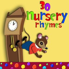 30 simple and easy nursery rhyme songs for preschoolers, kindergarten children and ESL learners.