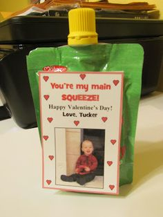 Valentine idea for Toddler