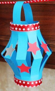 My Dream Sample Box Inc.: 4th of July Paper Lanterns Recipe