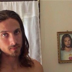 Jesus selfie? Funny! I wonder what he *really* looked like.