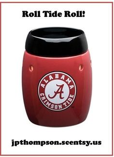 Show your Crimson Tide spirit with a University of Alabama Scentsy warmer.