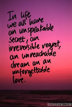 Unforgettable Dreams