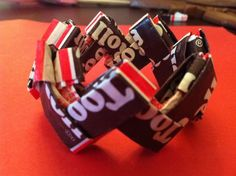 Tootsie roll bracelet DIY