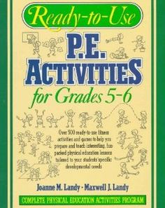 Great physical education activities for any educator for use in grades 5-6.