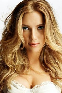scarlett johansson. - Do you want to attract women?