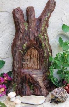 A door for wee garden folk