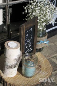 rustic-bridal-shower-entrance
