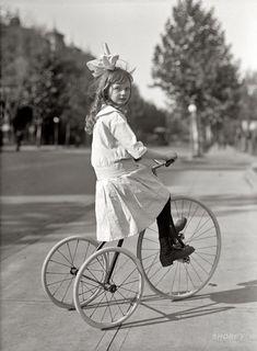 Tyke on Trike: 1915