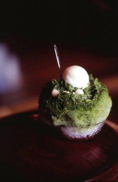 Japanese sweets -kaki gori-