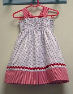 FREE ZigZag Shirring Tutorial & Toddler Dress Pattern.