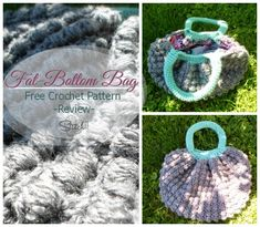 Fat Bottom Bag  -free #crochet pattern with review! from Stitch11.com