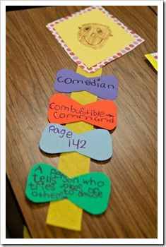 fun dictionary skills activity