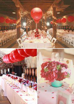 still LOVE balloons at a wedding :)