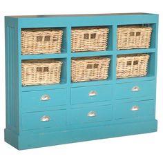 Nantucket Cabinet in Sky Blue at Joss & Main